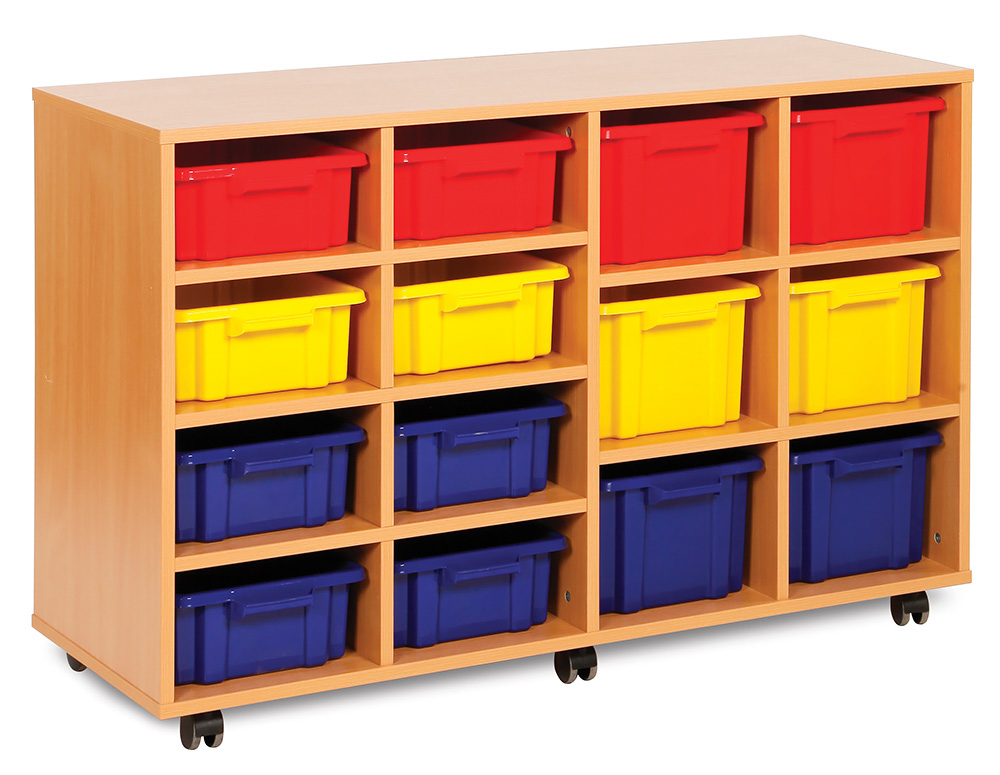 Budget Range Classroom Storage Unit Variety Strata Tray