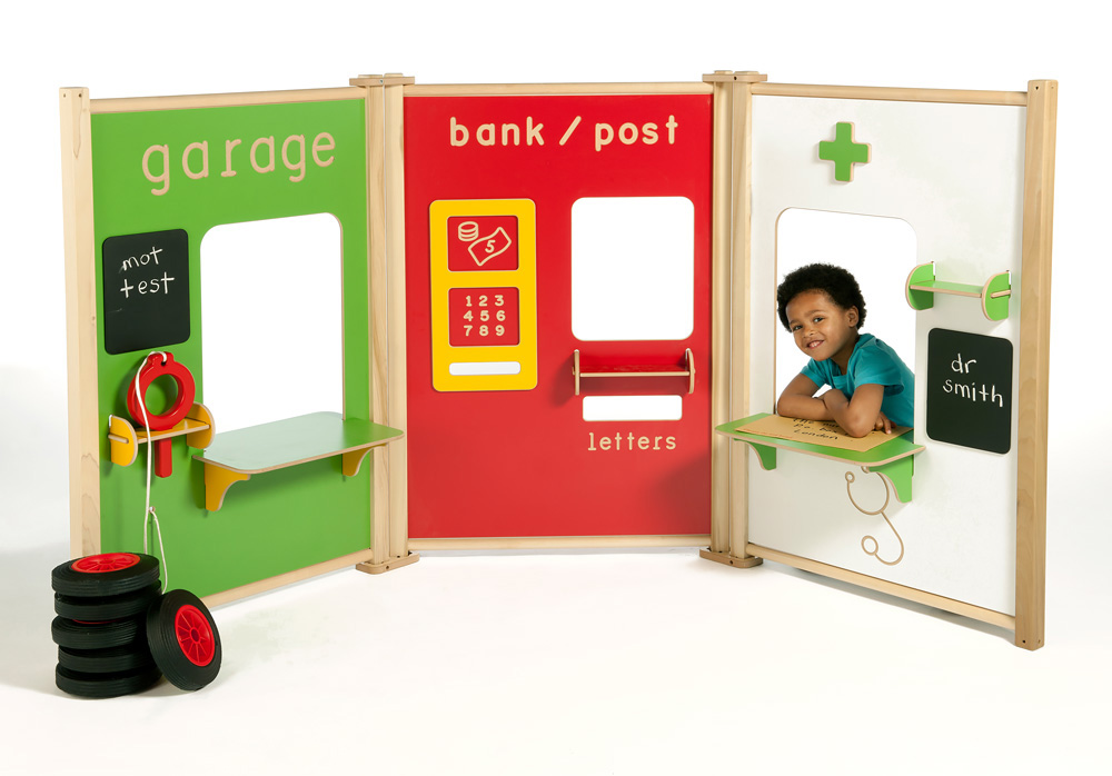 Childrens Role Play Panels Post Office