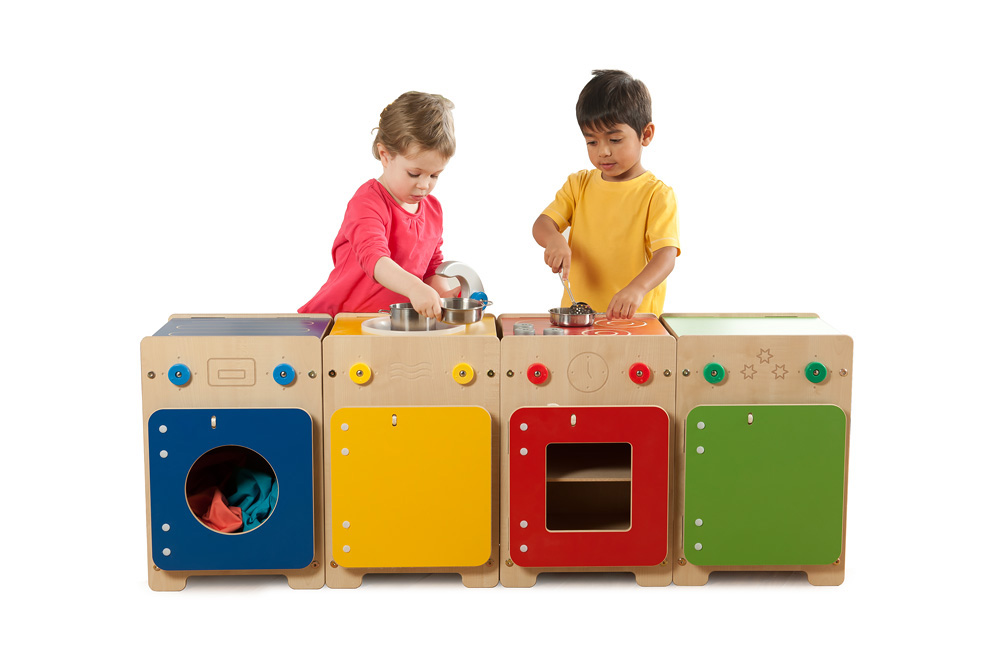 Wolds Play Kitchen Set of 4