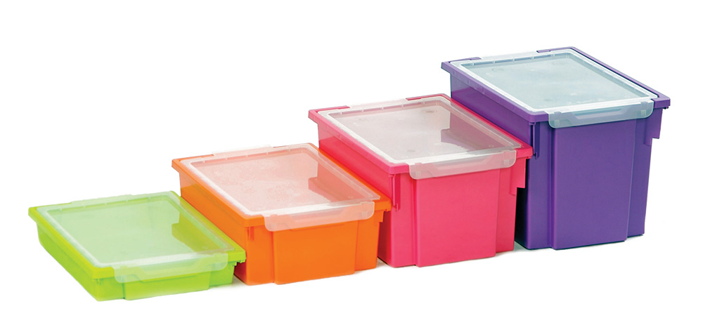 Gratnells Trays Clip on Lids