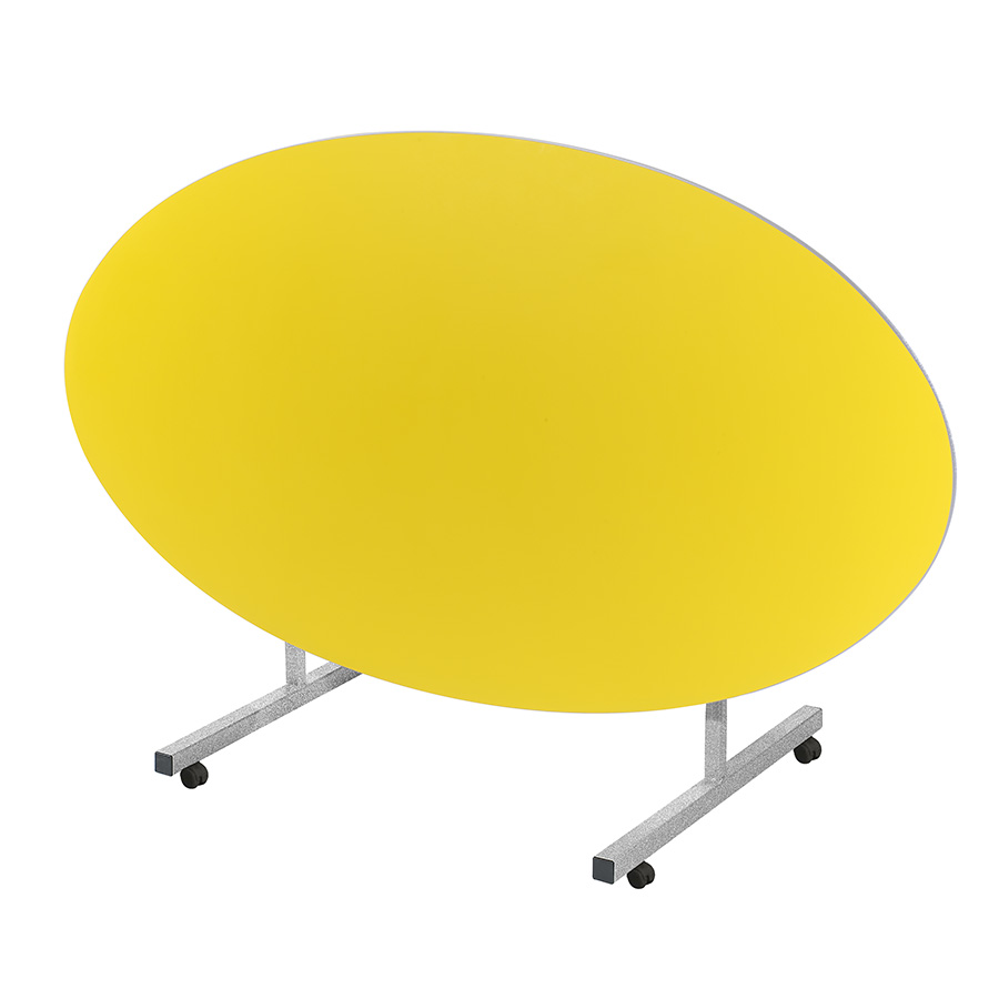Tilt Top School Dining Table Oval