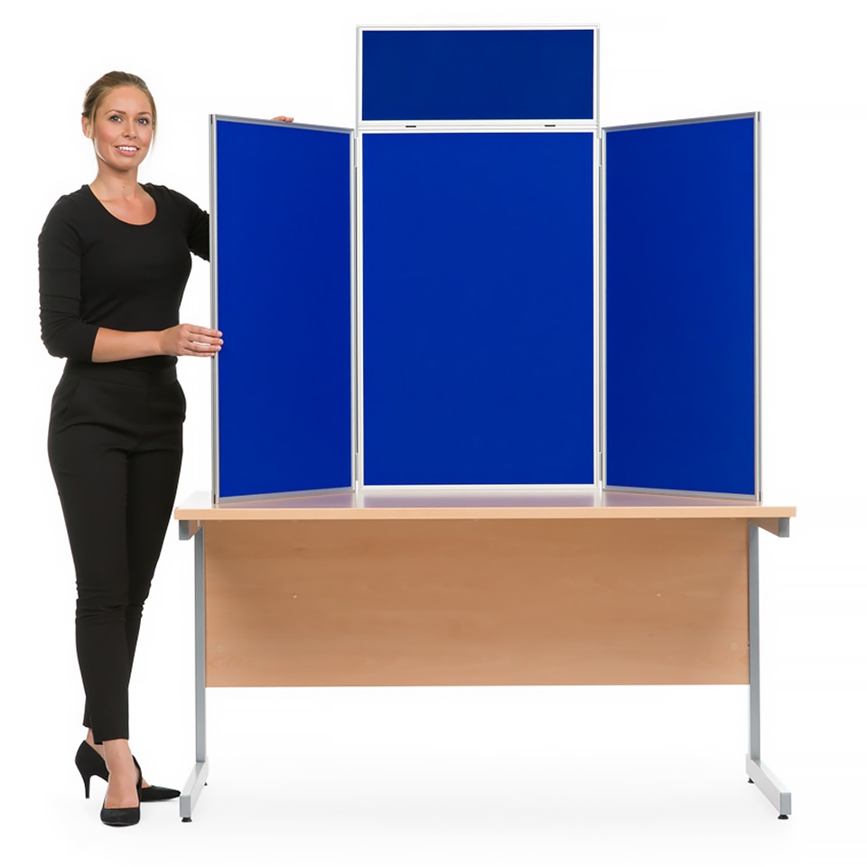 Portrait Table Top School Display Board