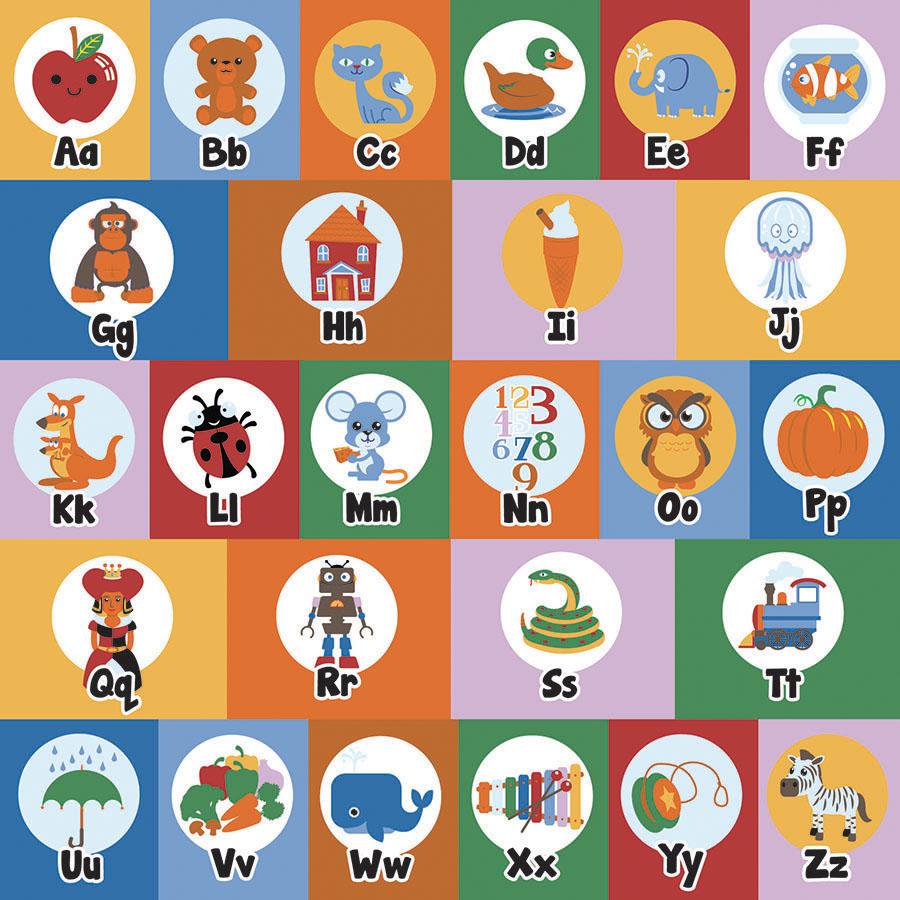 Classroom Rugs Alphabet Mat