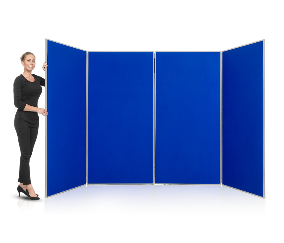 4 Panel Jumbo School Display Board