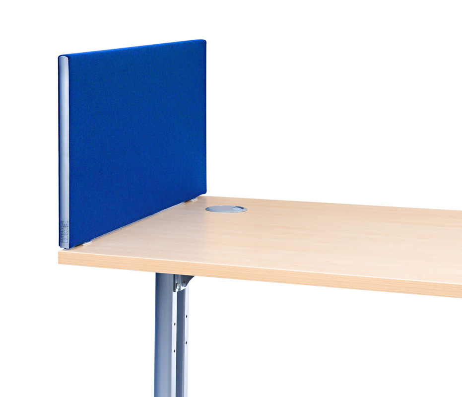Standard School Office Desk Screens 480mm High