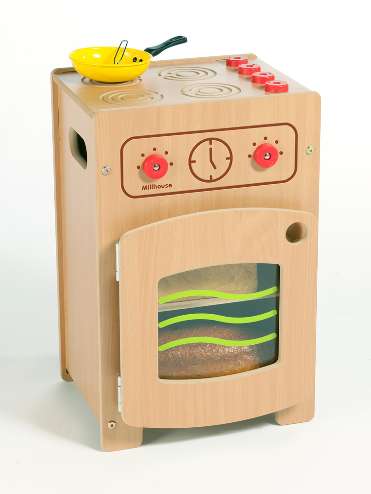 Stamford Wooden Play Cooker