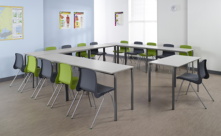 Reliance Rectangular Classroom Table Pack of 3