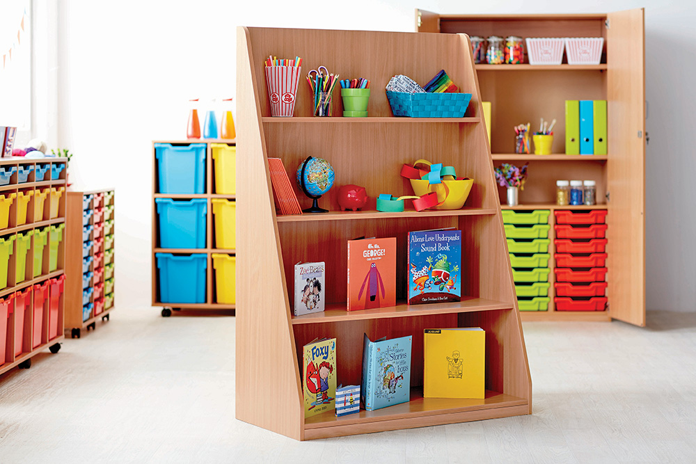 School Library Shelving Unit
