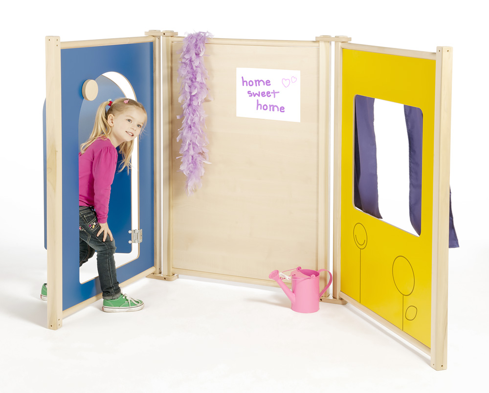 Childrens Role Play Panels Window