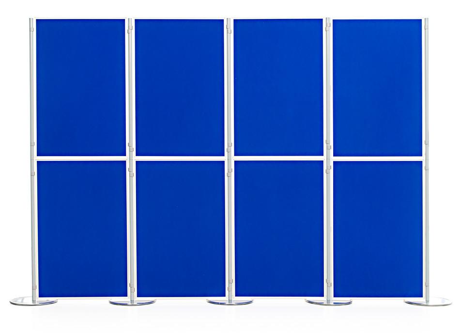 Aluminium Frame 8 Panel and Pole School Display Board