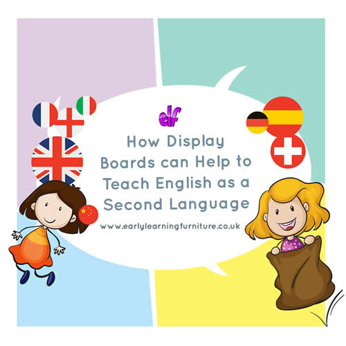 How Display Boards can help to Teach English as a Second Language