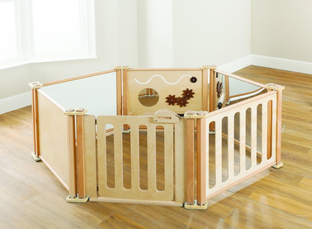Toddler Playpen Panels Enclosure Set