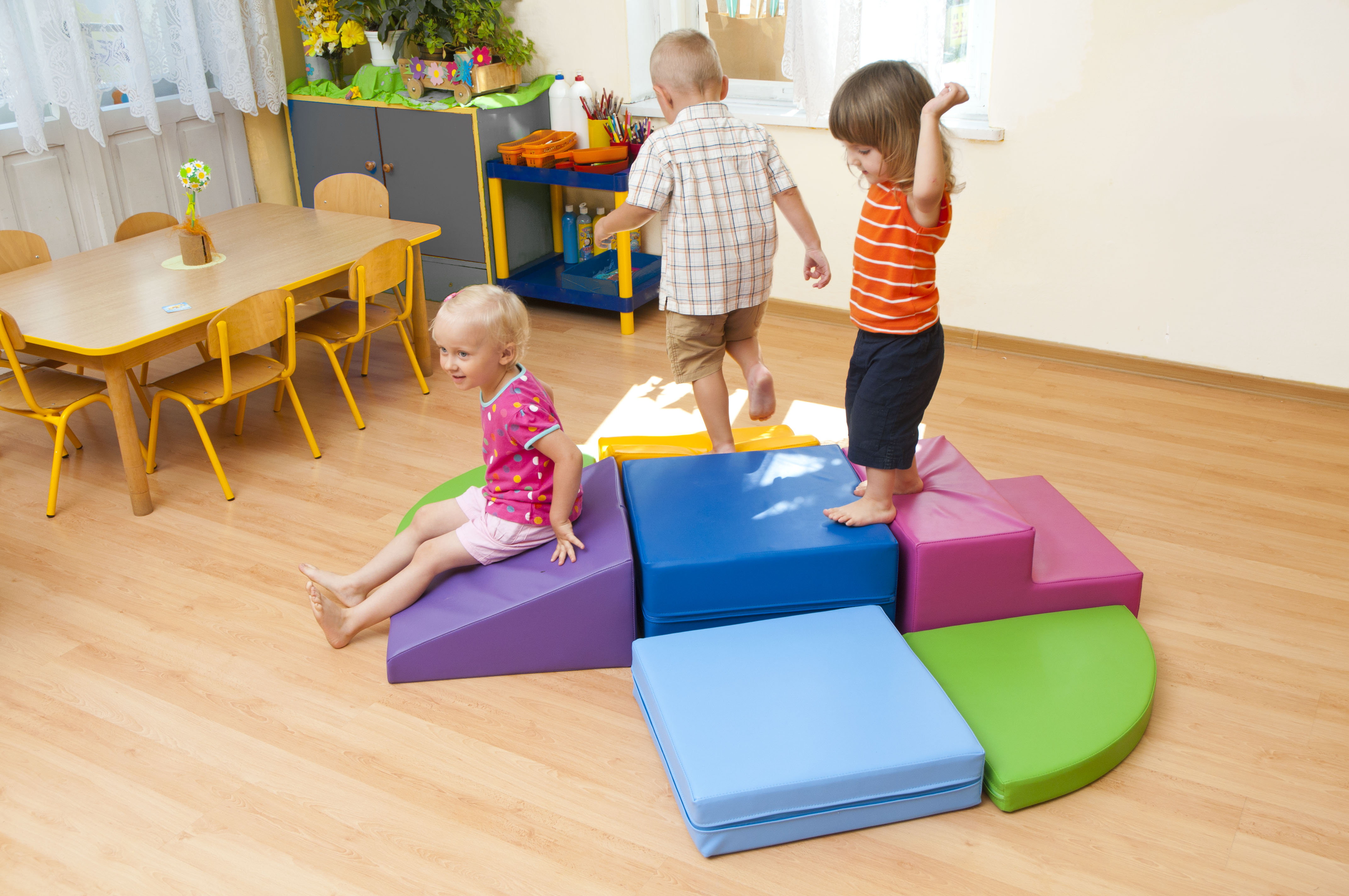 Soft Play Foam Climbing Blocks