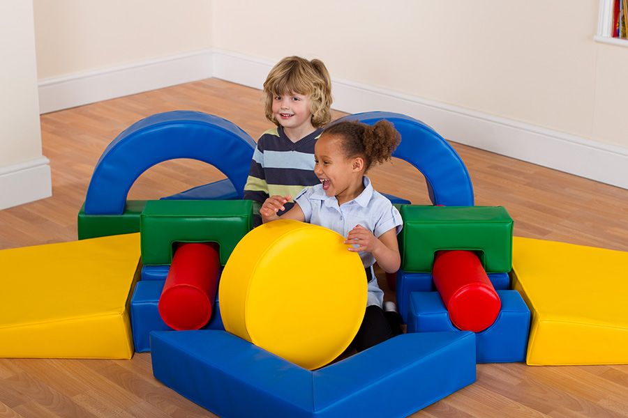Childrens Soft Play Shapes