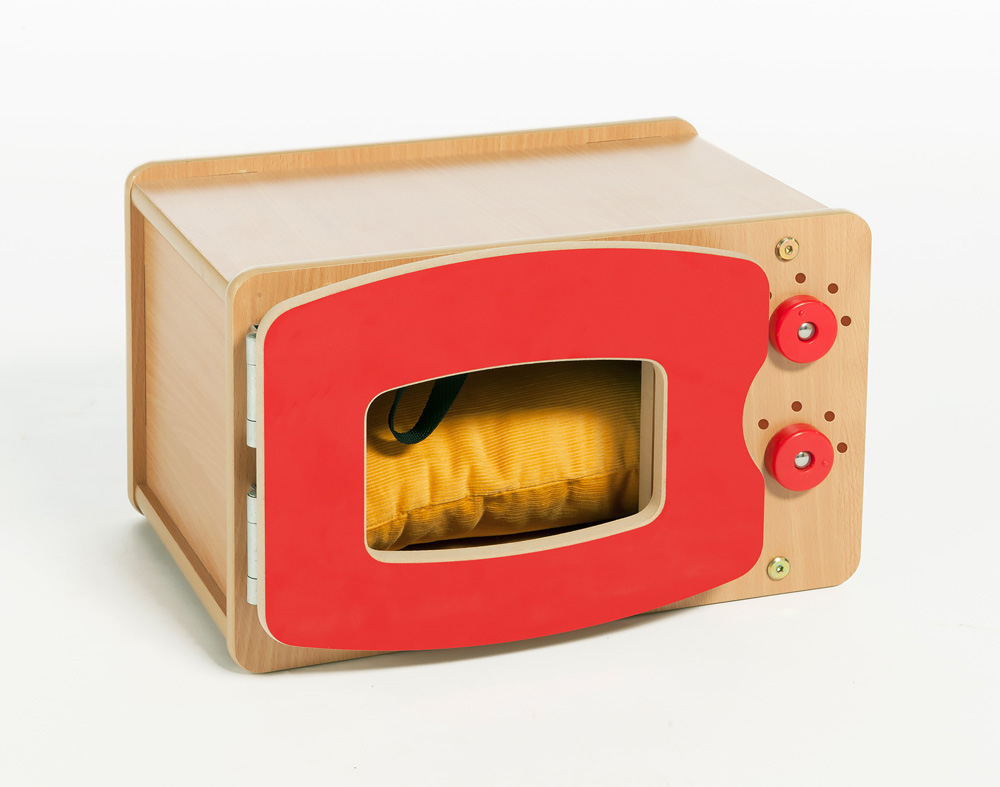 Stamford Wooden Play Microwave