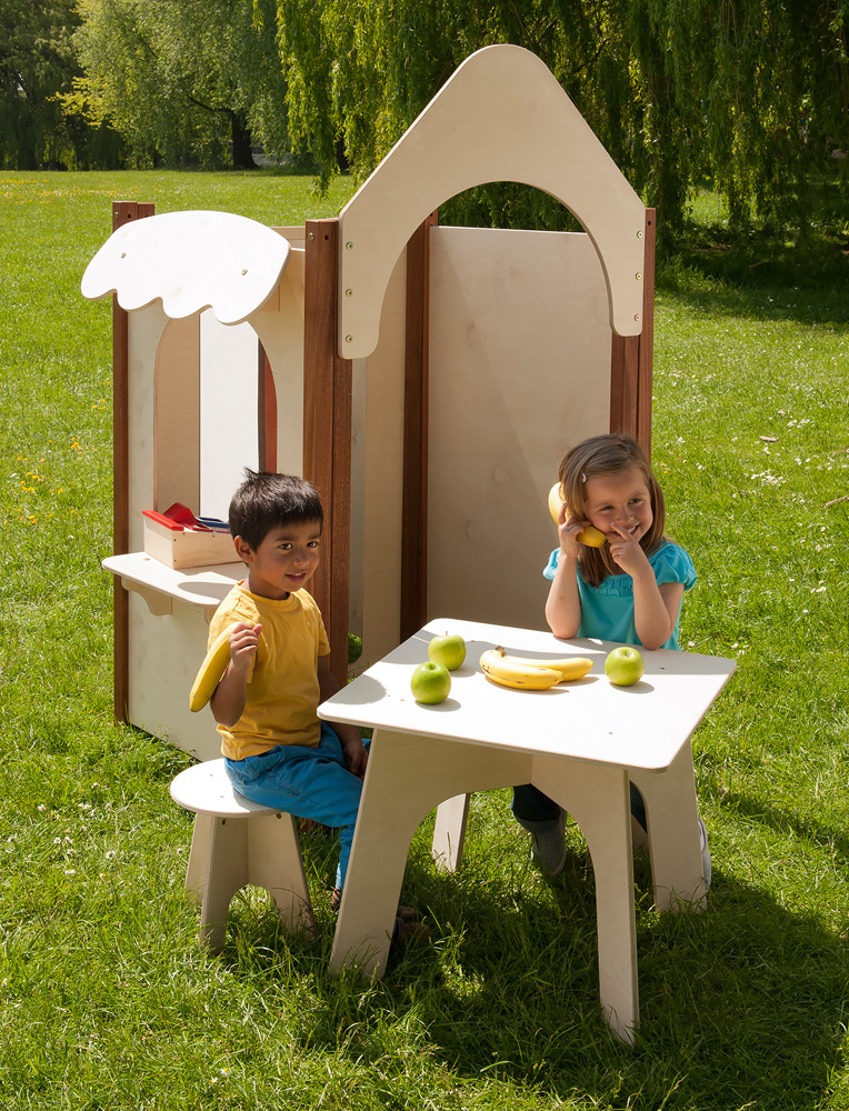 Outdoor Childrens Stool Pack of Two