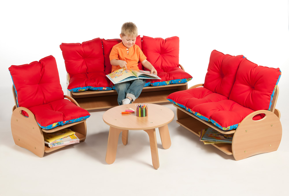 Childrens Two Seat Sofa