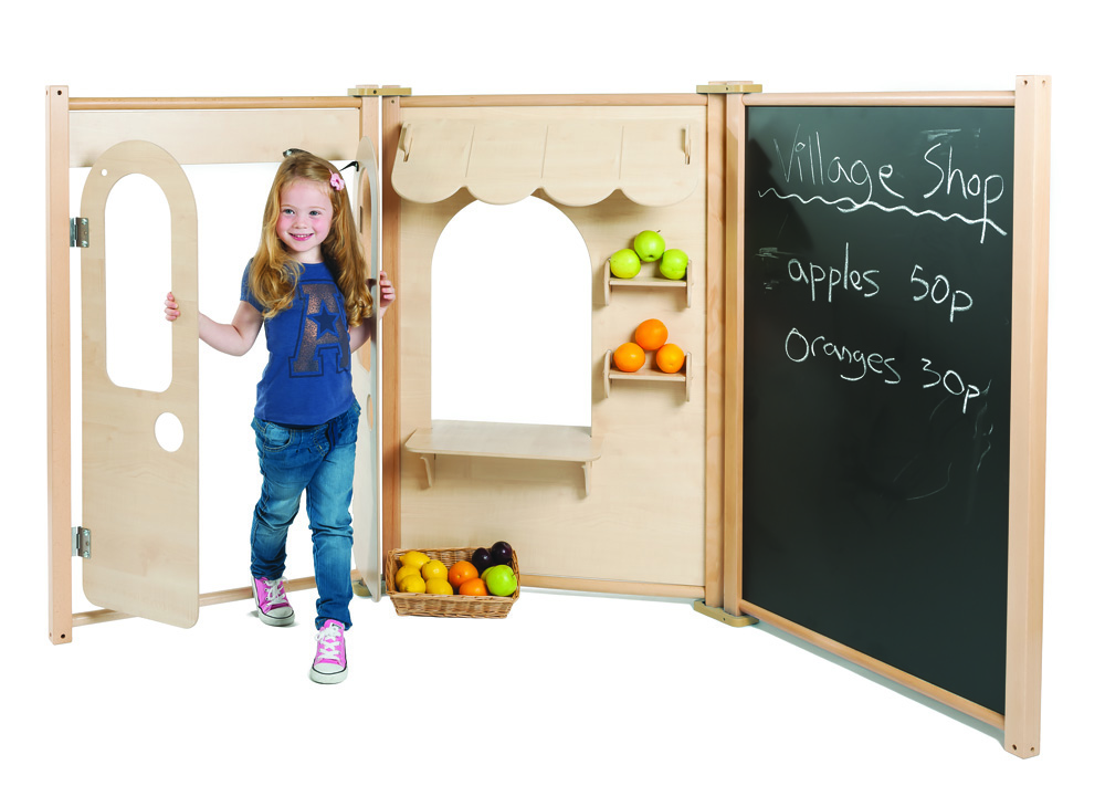 Childrens Role Play Panels Double Door