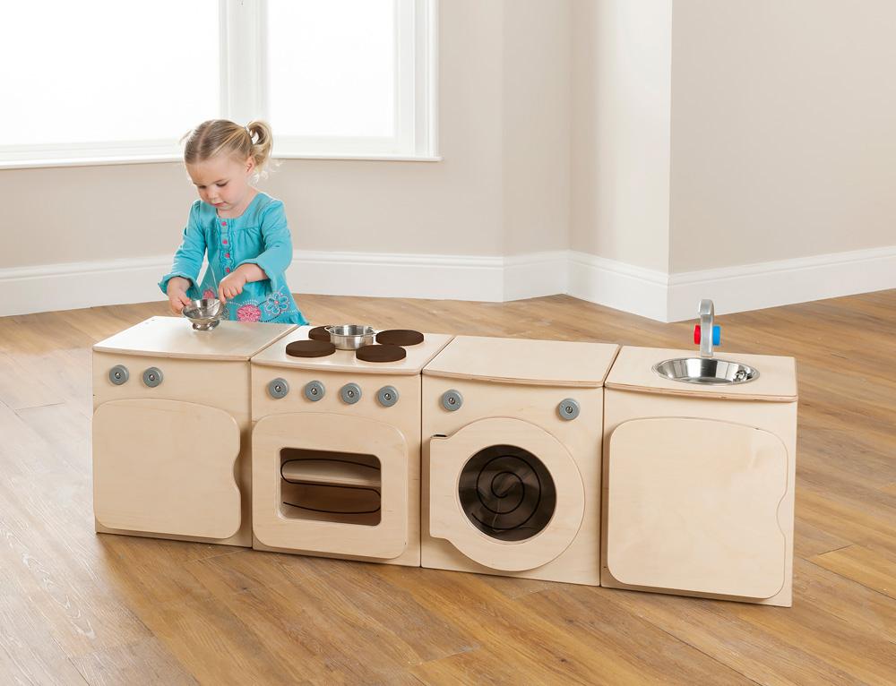Toddler Wooden Play Fridge
