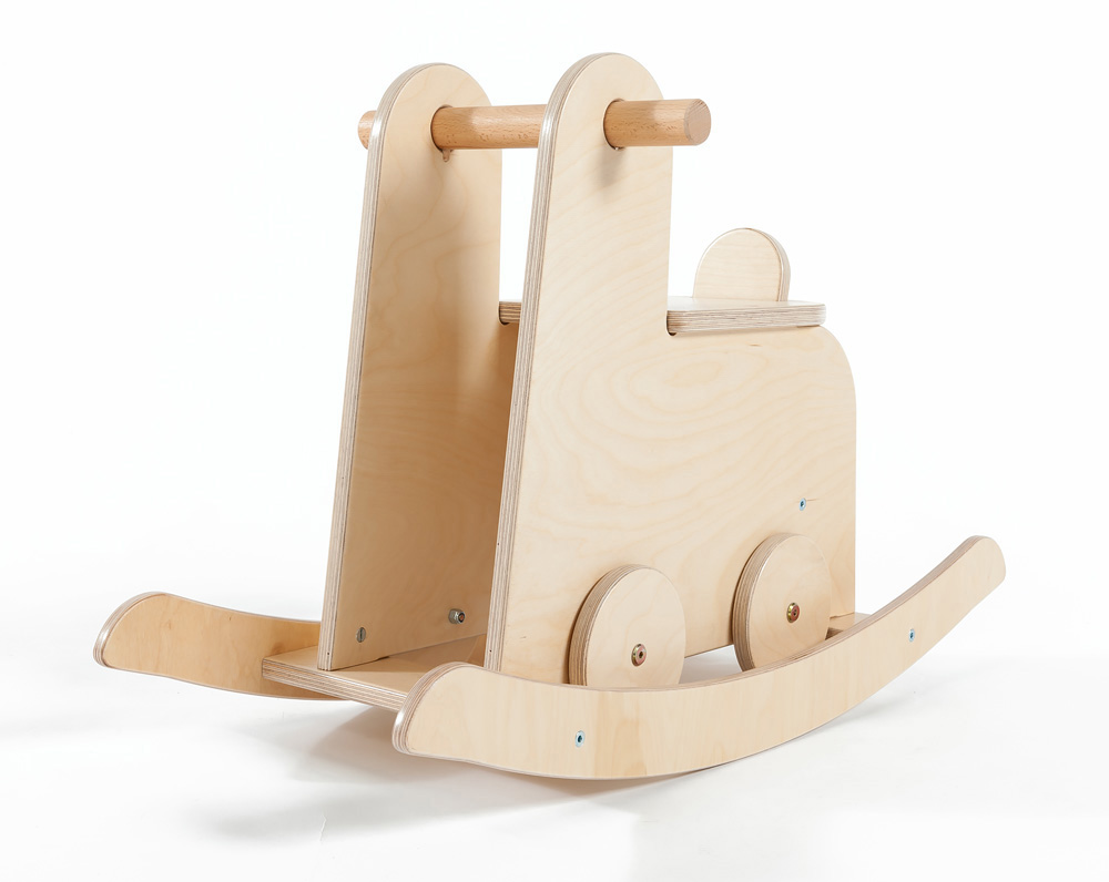 Childrens Wooden Rocker