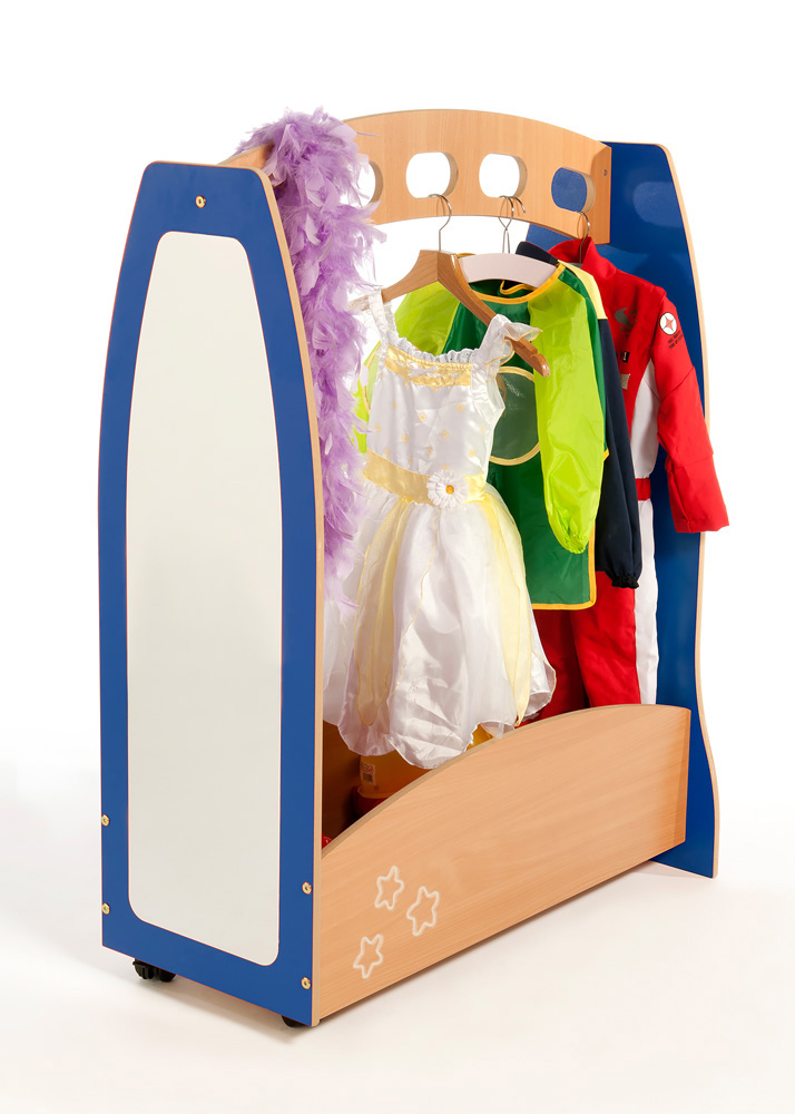 Galaxy Wooden Dressing Up Station