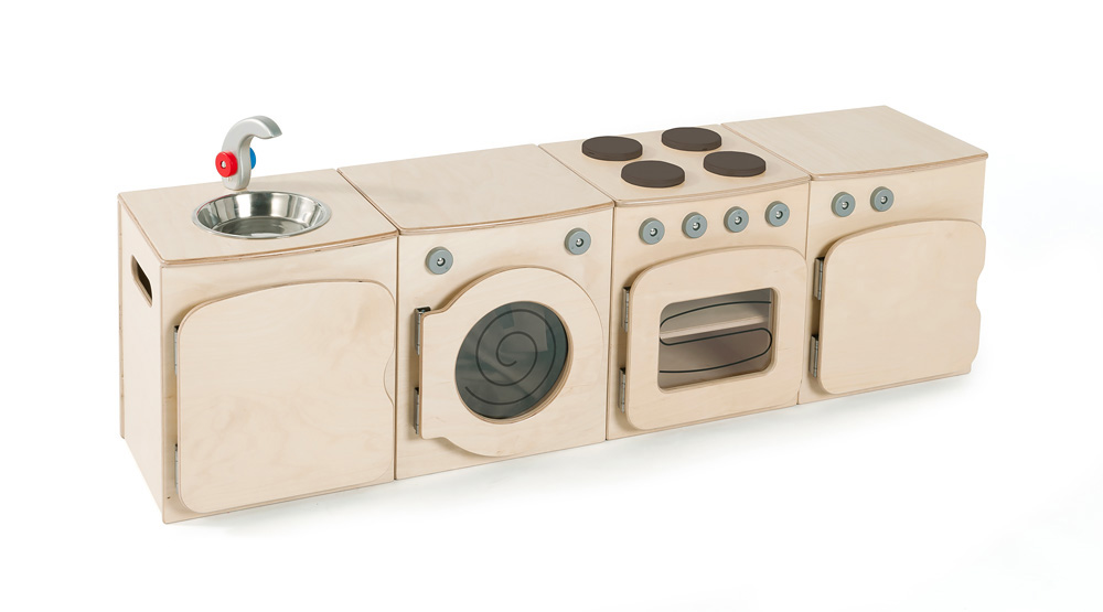 Toddler Wooden Play Sink
