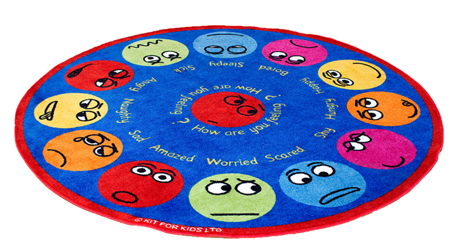 Emotions Interactive Classroom Rugs