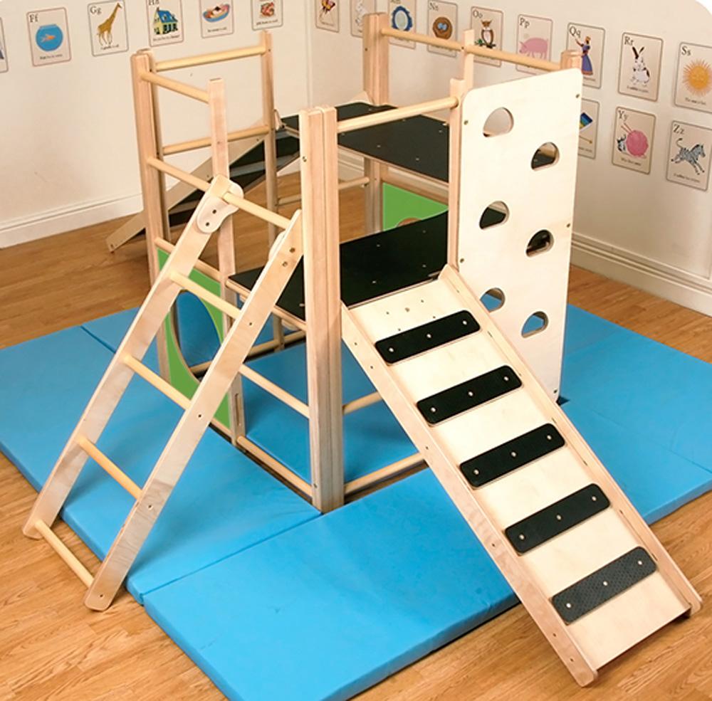 Wooden Indoor Climbing House