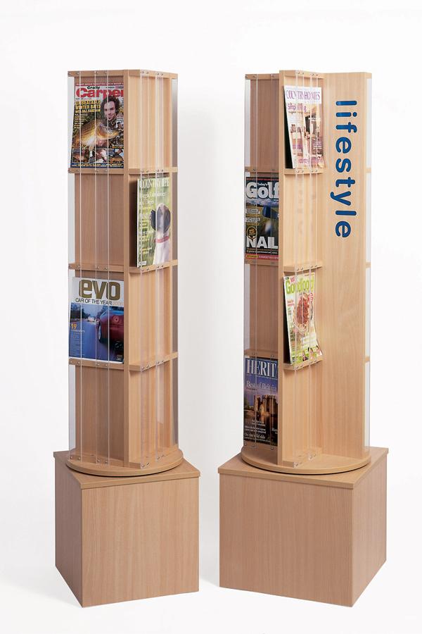 Magazine Display Spinner