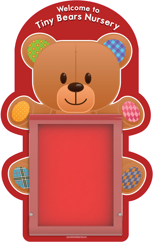 Nursery Welcome Sign Teddy