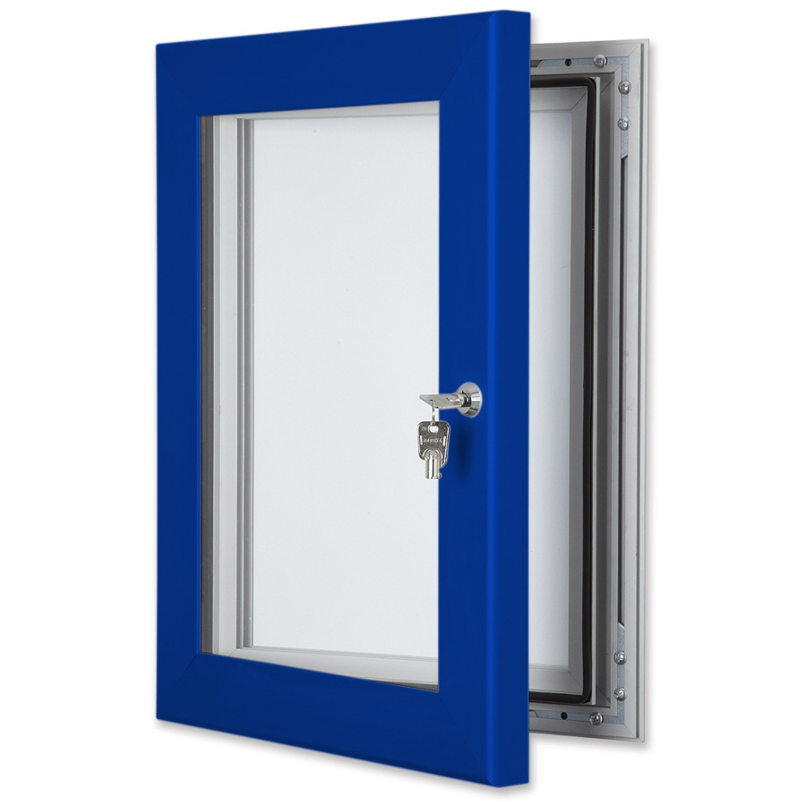 Secure School External Notice Boards Coloured Frame