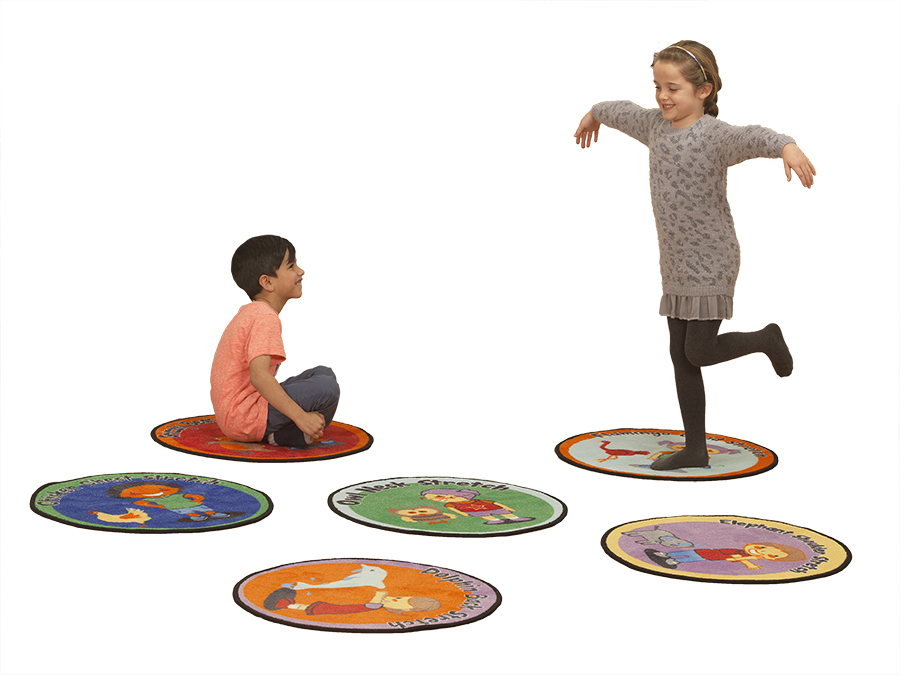 Childrens Exercise Activities Classrooms Carpets