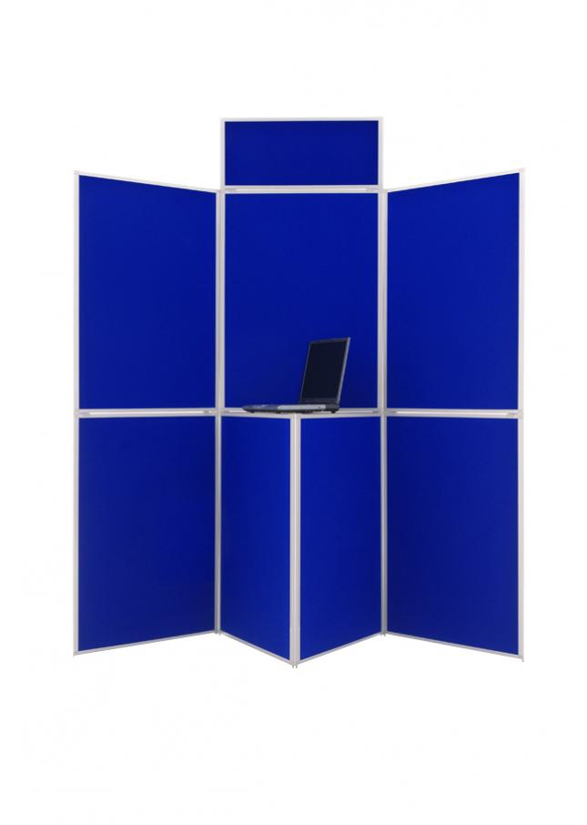 7 Panel Folding School Display Board