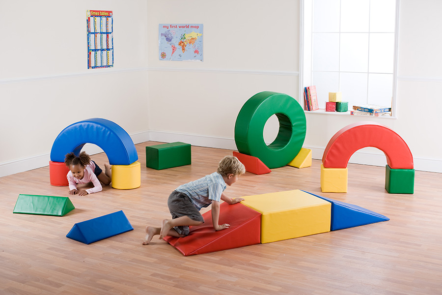 Large Soft Play Building Blocks