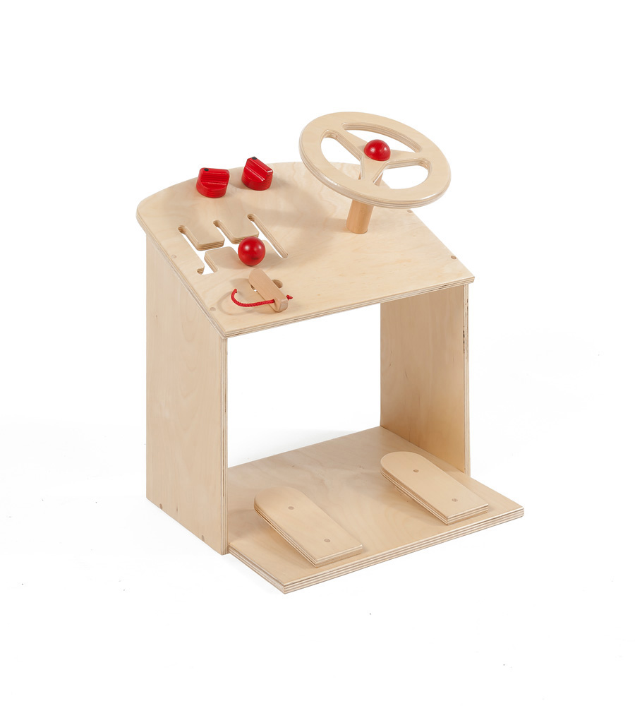 Wooden Play Driving Centre