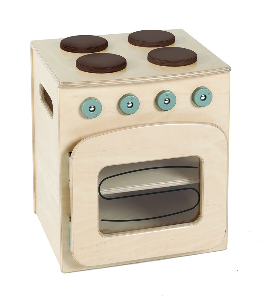 Toddler Wooden Play Oven