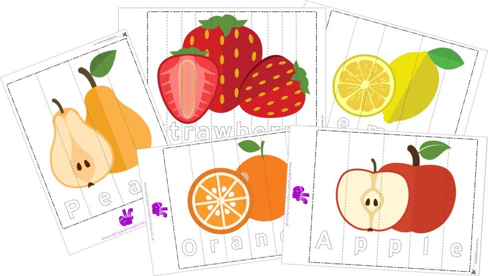 Spelling Practice Jigsaw Puzzles
