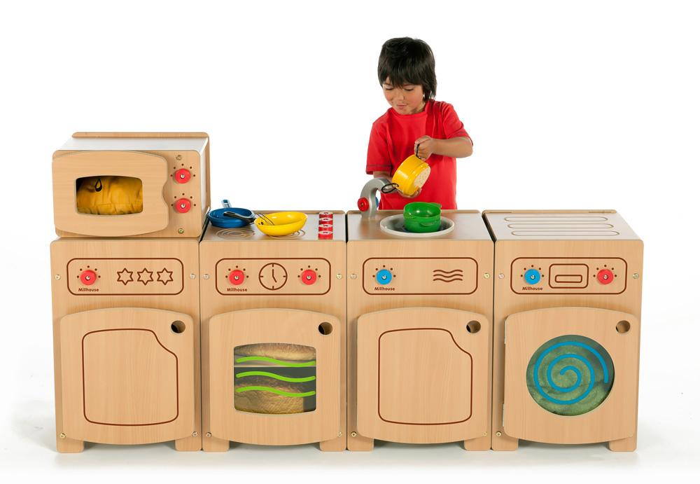 Stamford Wooden Play Kitchen Sink