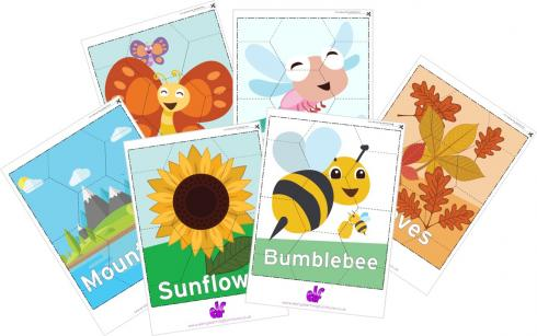 Printable Jigsaw Puzzles - Nature Themed