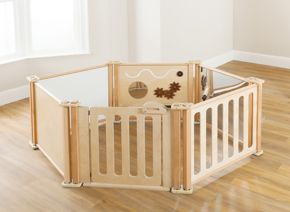 Toddler Playpen Panel Window