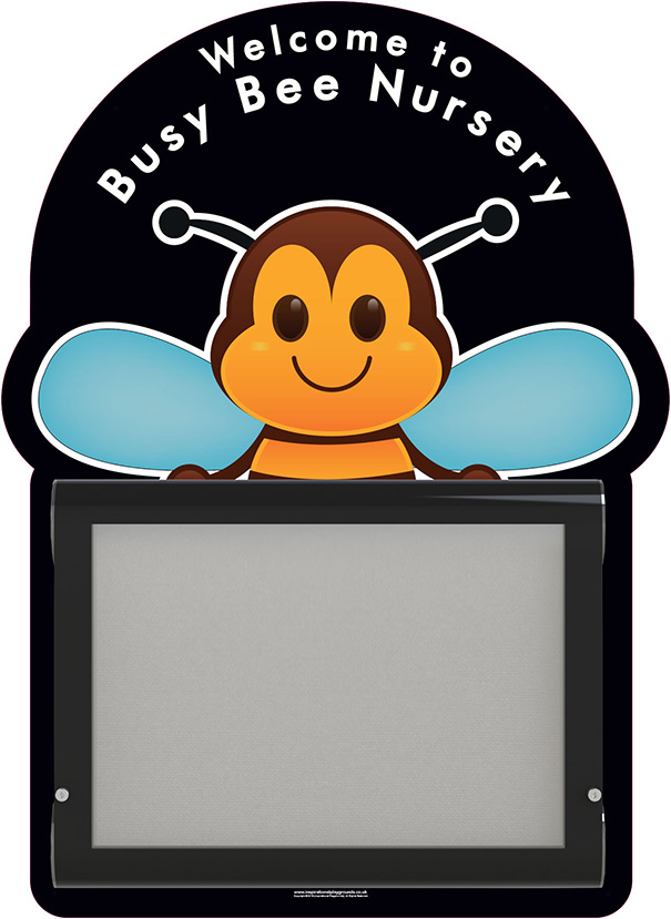 Nursery Welcome Sign Bee