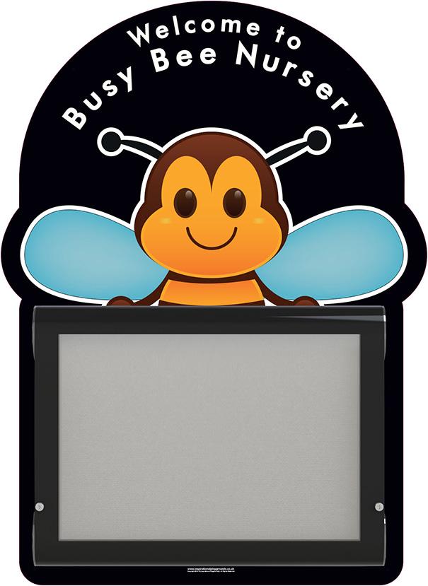 Nursery Welcome Sign Bee