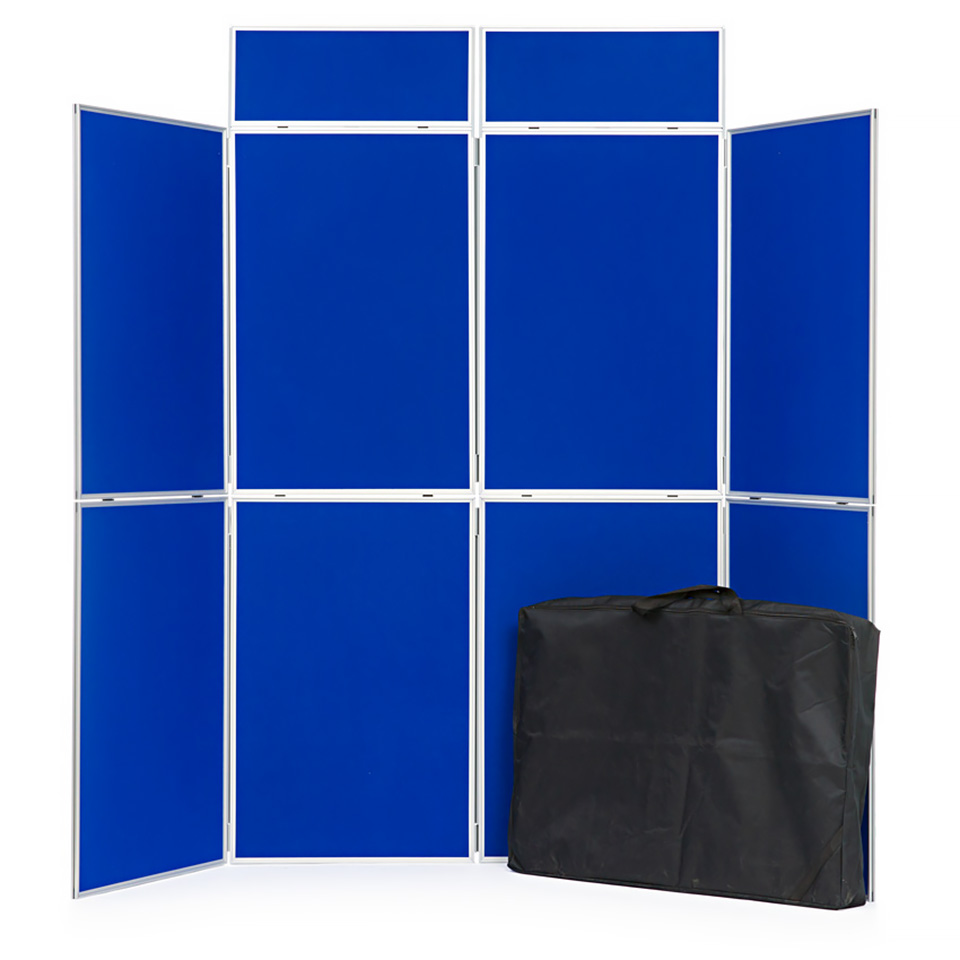 8 Panel Folding School Display Board