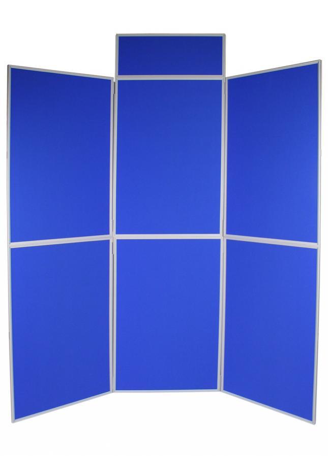6 Panel Folding School Display Board