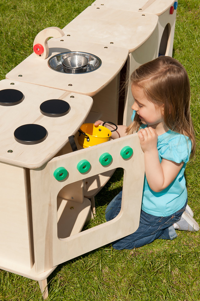 Outdoor Childrens Kitchen Set of 4
