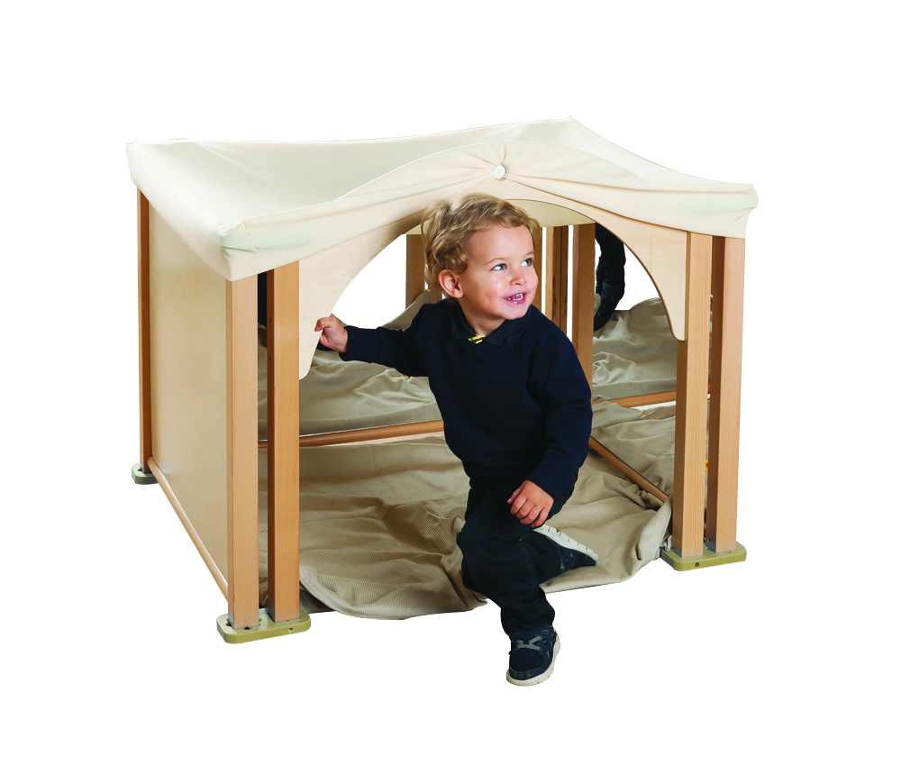 Toddler Playpen Panels Cosy Mirror Den Set