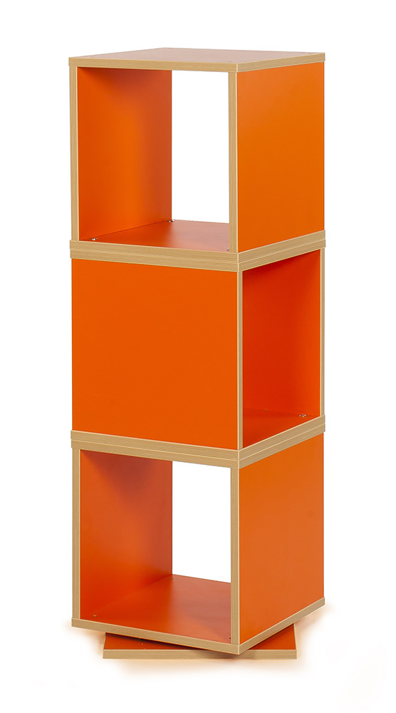 Bubblegum Swivel Storage Tower