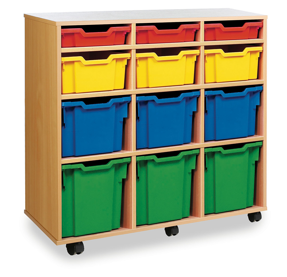 Variety Tray School Storage Units