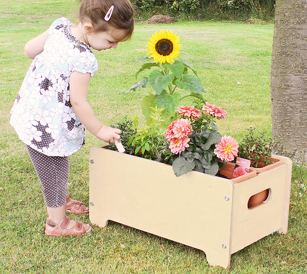 Outdoor School Planter